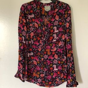 Long Sleeve Blouse by Maeve (Anthropologie)